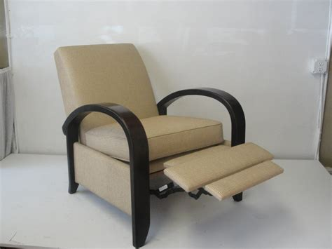 contemporary recliner chair modern leather recliner rocker with chrome modern