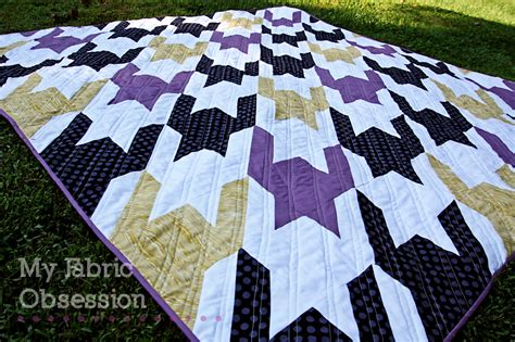 Tula Pink Houndstooth Quilt Pattern by Fabric Obsession Quilt Festival Houndstooth Quilt
