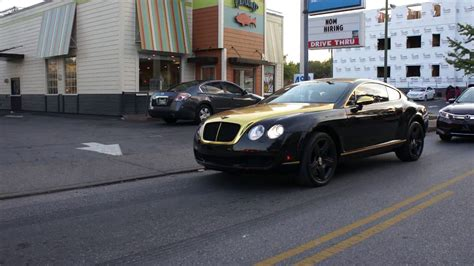 black and gold bentley black and gold bentley continental gt coupe tsu homecoming