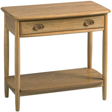 Ercol Console Table Ercol Console Table Oldrids Downtown Oldrids Co Ltd
