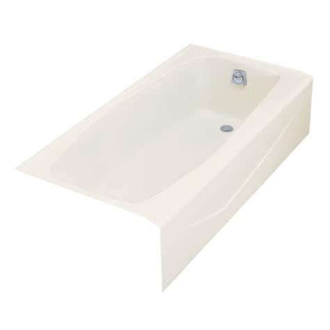 5 foot cast iron bathtub kohler villager 5 ft right drain rectangular alcove cast