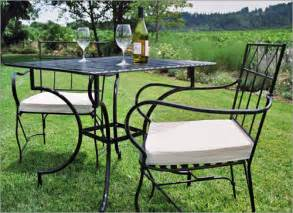 Outdoor Sofas Cheap Wrought Iron Garden Furniture Landscaping Gardening Ideas