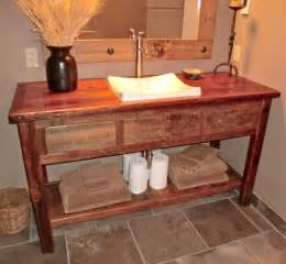 rustic furniture portfolio rustic bathroom vanity units