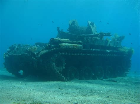 u boat found in st lawrence shipwrecks they also sunk an m40 tank as an underwater