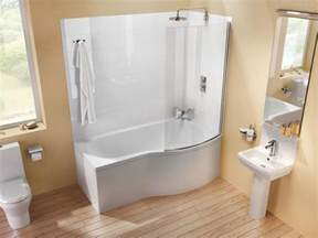 Shower To Bath Cleargreen Eco Round Shower Bath Lh