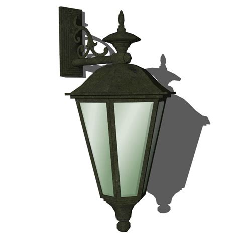 Revit Wall Sconce Cast Iron Sconce 3d Model Formfonts 3d Models Textures