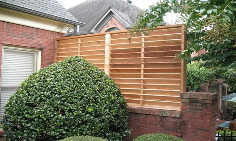 Garden Style Tub Outdoor Privacy Screens For Louvered Privacy Screens For Patios