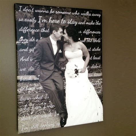 Wedding Song With by Best 25 Wedding Canvas Ideas On Canvas
