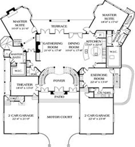 dual master house plans 1000 images about house plans on house plans courtyards and floor plans