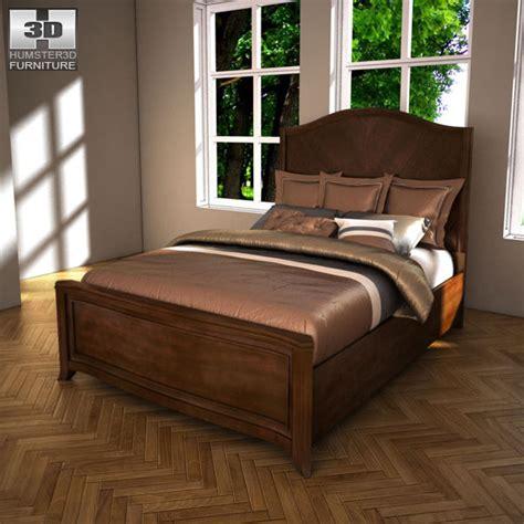 ashlyn sleigh bed 3d model ready max