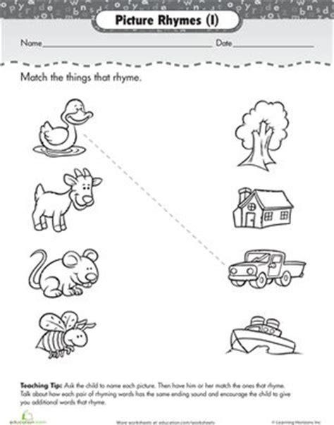 Basic Dress G1 worksheets for preschoolers worksheets and rhyming words