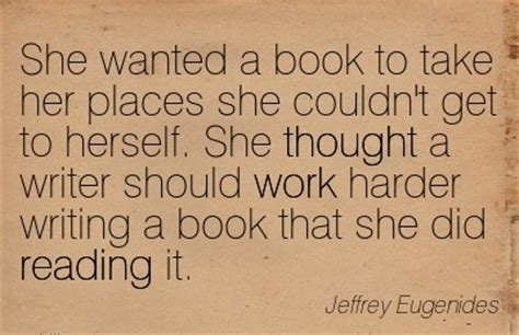 she the who took my books she thought a writer should work harder by jeffrey