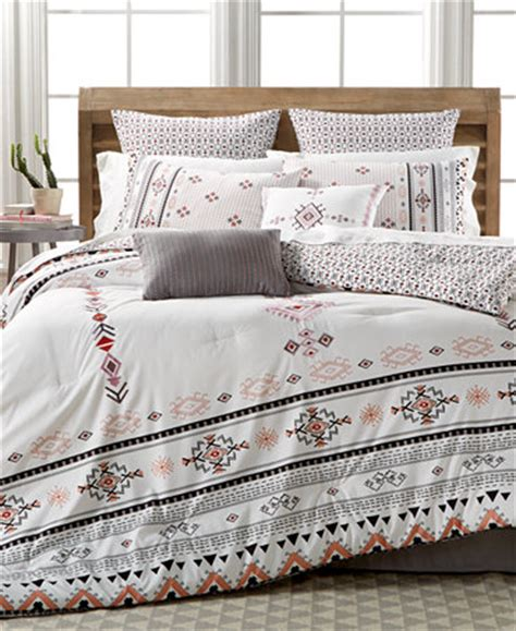 macy bedding sets closeout arroyo 8 pc reversible comforter set only at