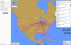 Compass Airlines Route Map by Gallery For Gt Southwest Airlines Route Map Pdf