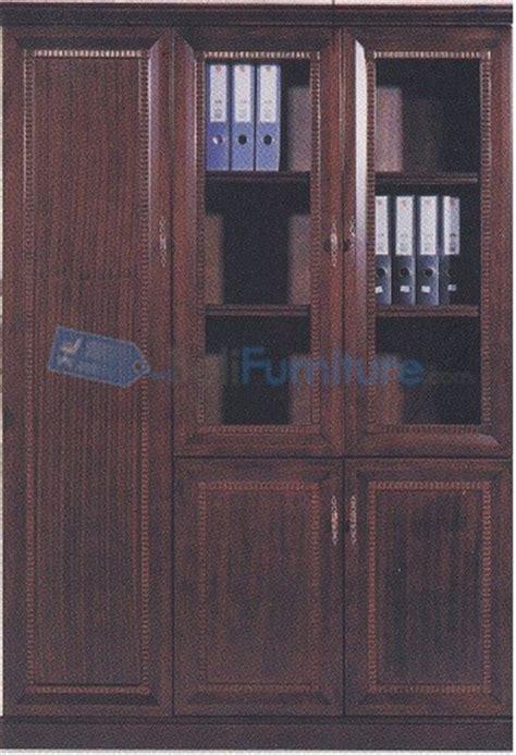 desain lemari loker glory royal lemari arsip pintu kayu dan kaca 145 cm murah