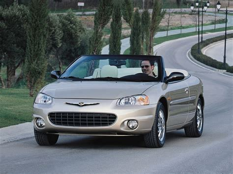 Chrysler Sebring 2001 Convertible by Chrysler Sebring Convertible Specs 2001 2002 2003