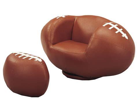 kids football chair and ottoman crown mark kids sport chairs 7003 football swivel chair