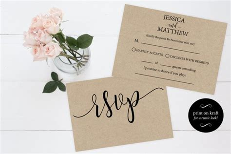 rsvp card template for wedding and welcome rsvp wedding template wedding rsvp cards rsvp