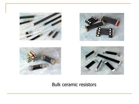 bulk resistors ppt introduction to electroceramics powerpoint presentation id 257359