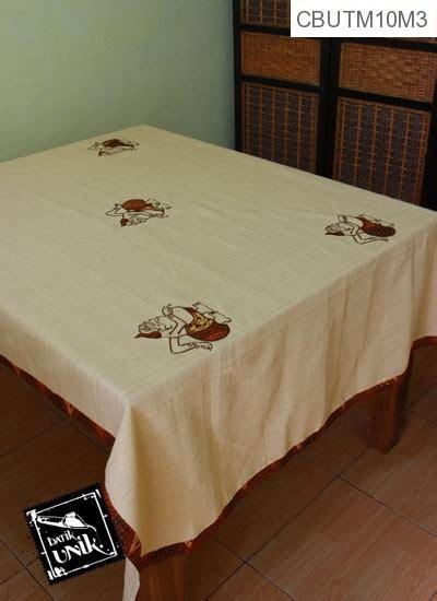 Taplak Meja Makan Hijau taplak meja makan motif semar batik taplak meja batik murah batikunik