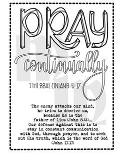 Free Printables -War Binder and Bible Intro | Prayer