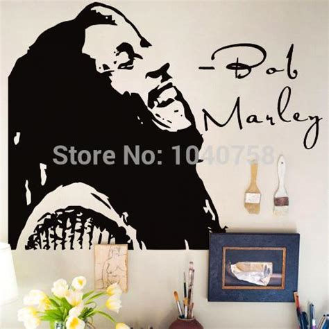 bob marley home decor bob marley wall stickers home decor don t worry bout vinyl