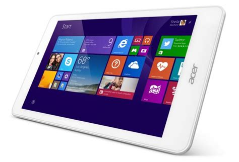Acer 10 Inch Tablet Windows 8 acer announces 8 inch iconia tab 8 w windows tablet for 150 mspoweruser
