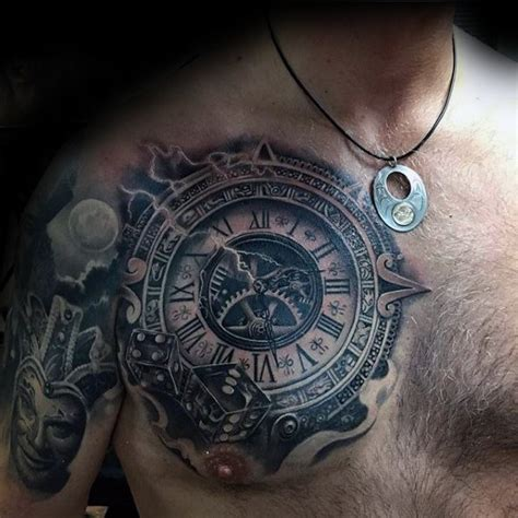 awesome  chest tattoo designs gravetics