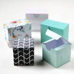 Gift Box Template by Printable Diy Gift Boxes Gathering
