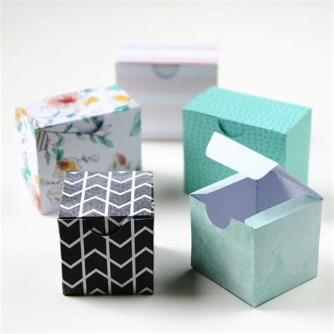 How To Make A Small Gift Box Out Of Paper - printable diy gift boxes gathering
