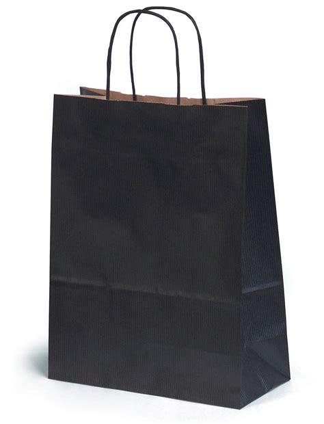 gift bags medium black gift bag 24x11x31cm blackmed24