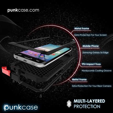 Samsung Galaxy S7 Waterproof Original Casing Cover Armor Bumper galaxy s6 edge punkcase metallic slim metal cover armor