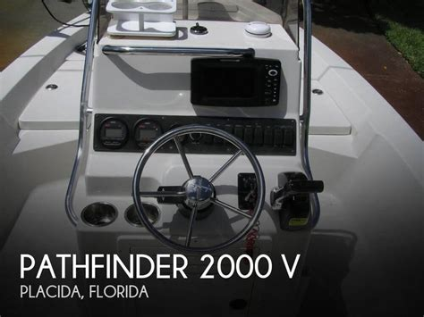 used boats for sale placida florida for sale used 2007 pathfinder 2000 v in placida florida