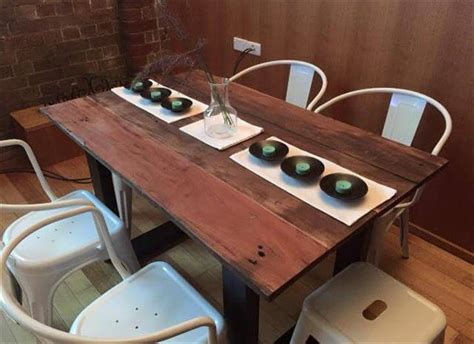 wooden pallet dining table pallet wood dining table 99 pallets