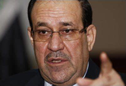 Nuri Top Sr T2909 iraq s maliki rejects iran s call to step