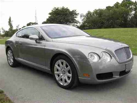 bentley gt v12 purchase used 2005 bentley continental gt v12 awd in