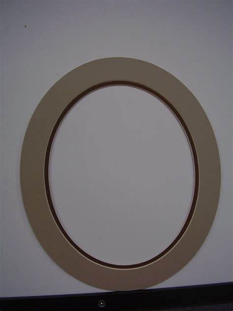 Oval Mat For Picture Frame picture frame mat custom cut for oval frame 11x13 for 8x10