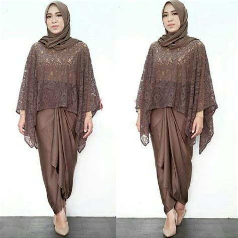Set Kebaya Batwing New 1 batwing lace kebaya set 3 in 1 elevenia