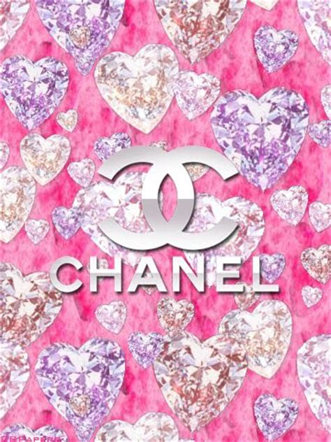 wallpaper pink chanel bb papers by corrina chanel pink diamonds