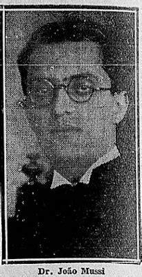 Vitrine Capixaba: 1931.João Mussi, formatura em Direito