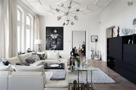 Black And White Living Room Ideas 48 Black And White Living Room Ideas Decoholic