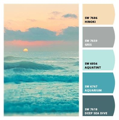 calming color schemes best 25 colors ideas only on