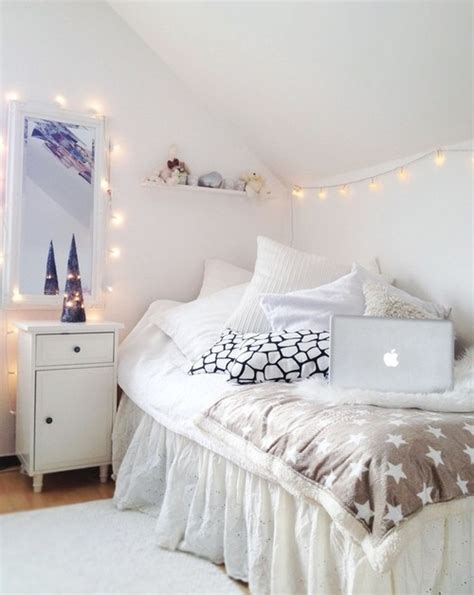 fairy lights girls bedroom white bedroom love fairy lights cute for a little girls