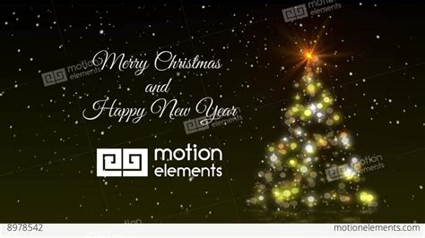 christmas tree lights and logo after effects templates