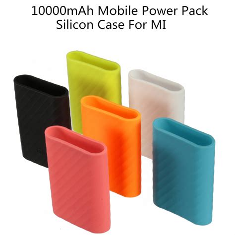Sale Silicon Cover For Xiaomi Power Bank 10000mah 100 Original Xiaomi Xiaomi Mobile Power Pack Silicone Cover For Mi