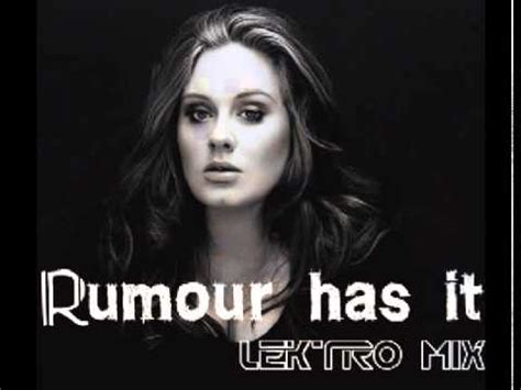 adele rumour has it download adele rumour has it lektro mix youtube