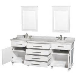 avola 80 inch white finish sink bathroom