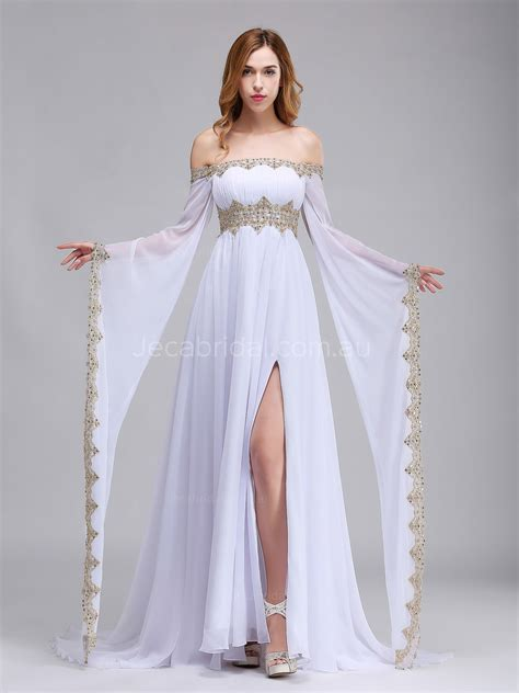 Wedding Dress The Shoulder by The Shoulder Wedding Dress W1064