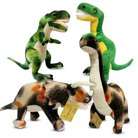 Mainan Dinosaurus By B Toys boneka dinosaurus brontosaurus trex triceratops