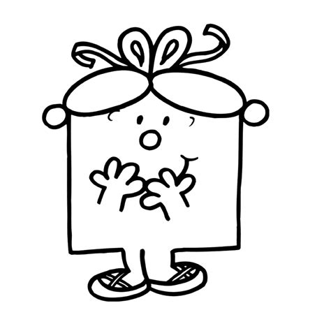 Free Coloring Pages Of Little Miss Giggles Miss Colouring Pages